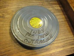 Old Pre 1950 Indianapolis 500 And Salt Flats Racing And Soap Box Derby 16mm Movie