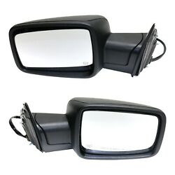Power Mirror Set Of 2 For 2013 Ram 1500 2500 Heated Power Fold With Signal Light