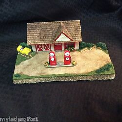 Gas Station Display For Wee Forest Folk By Habitat Hideaway