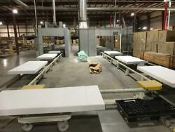 Custom Built Tow Line wPaint booth and oven-FInishing equipment