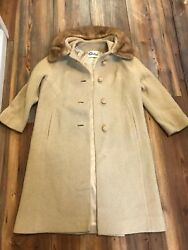 vintage STANLEY#x27;S EAST ST LOUIS women#x27;s trench COAT COAT usa union made $22.54