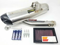 Can-am Ryker 600 900 Rally Powerkit 2 Two Brothers Exhaust + Kn Air Filter + Ngk