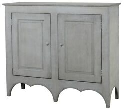 57 L Maurizia Two Door Cabinet Recycled Pine Solid Hardwood Traditional