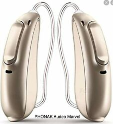 Phonak Marvel-pair-all Tech Levels-free Programming-factory Warranty-colors