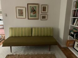 Vintage Mid Century Danish Modern Daybed Settee Sofa 60and039s 50and039sandnbsp