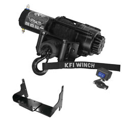 3500 Lb Kfi Stealth Winch Combo M11 For 2000-03 Polaris Xpedition 325 425