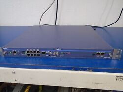 Nec Univerge Sn8104 Mgcej-a 1u Chassis With Cpus And Mg7mc1 Cards