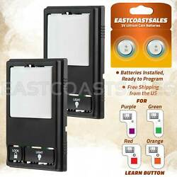 2 For 78lm Liftmaster Chamberlain Multi-function Garage Wall Control Remote Pad
