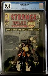 Comic Cgc Strange Tales 138 9.8 Only 2 1st Appearance Of Eternity