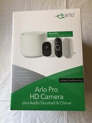 Arlo Pro Hd Wire-free Camera Plus Audio Doorbell And Chime