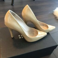 Barneys New York Patent Leather Pumps 37 Heels Shoes