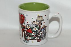 Mary Engelbreit Home Sweet Home Collectible Coffee Mug Cup