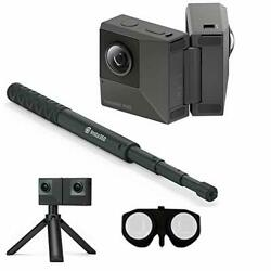 Insta360 EVO All-in-One Bundle: 180 3D + 360 Degree Action Video Camera with