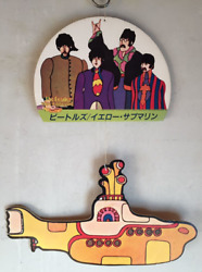 The Beatles Yellow Submarine Hanging Promotion Store Pop Super Rare Retro 1968