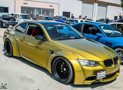Bmw E92 M3 Gtr-s Rivet On Wide Body Kit 2dr And03907-and03913 Frp Fender Flares Lb Style