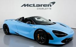 2020 McLaren 720S SPIDER Performance 2020 McLaren 720S SPIDER MSO FISTRAL BLUE with 719 Miles available now!