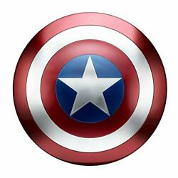 Highly Realistic Captain America Shield With 2 Adjustable Straps - 24 Diameter