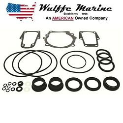 Omc Cobra Lower Unit Seal Kit 86-93 4.3 5.0 5.7 5.8 And 90-93 3.0 984458 439967
