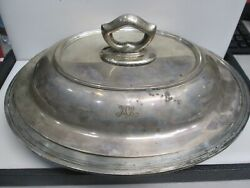 And Co. Maker Sterling Makers Covered Vegetable Serving Dish