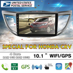 10.1and039and039 Android 9.1 Car Stereo Radio Gps Navi Dab Mirror Link For Honda W/ Canbus