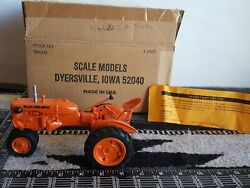 Allis Chalmers Ca 1/16 Diecast Farm Tractor Replica Collectible By Scale Models