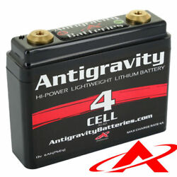 Antigravity Batteries Ag-401 Lithium Motorcycle Battery 120 Cca 4-cell 12v - New