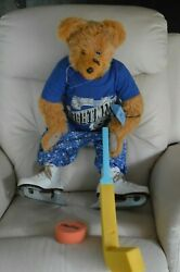 Collectible Tampa Bay Lightning Teddy Bear With Ice Skates 30 Lightning Shirt
