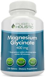 Magnesium Glycinate Chelated 400mg 270 Tablets Vegan, Sleep, Stress Relief