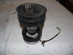Oem 1995 Bmw 525i Air Conditioning And Heater Blower Motor W/dual Hamster Wheels