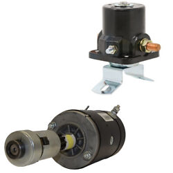 Replacement Starter And 12 Volt Solenoid Fits Ford Tractors 9n 8n 2n