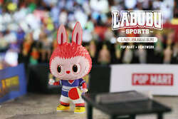 How2work The Monsters Labubu Mini Figure Designer Toy Sports Table Tennis