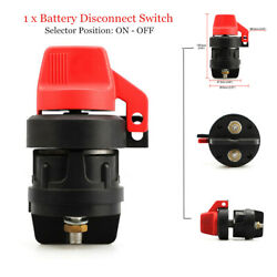12/24v 300a Battery Isolator Disconnect Switch Device For Marine Boat Car Rv Atv