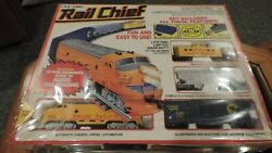 Rail Chief Ho Train Layout With F-series Diesel Engine 1989
