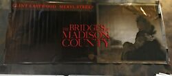 The Bridges Of Madison County Huge Movie Theatre Banner Poster Rare