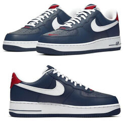 New NIKE Air Force 1 Low Team USA Athletic Sneakers lv8 Mens blue red all sizes