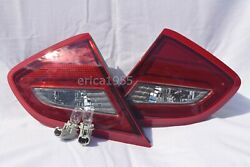 Rear Inner Tail Light Lamps W/light Bulbs On Trunk Lid One Pair For 2018 Altima
