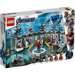 LEGO 76125 Super Heroes Marvel Iron Man Hall of Armor New from Japan FS