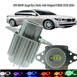 Fit For Bwm 3 Series E90lci Angel Eye Made With Original 40w Cree Xte Chips Leds