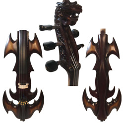 New Song Streamline Fancy Crazy -1 Dragon Scroll 5 Strings 4/4 Electric Cello