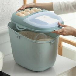 Flip Design Cover Rice Storage Containers Plastic Eco-friendly Modern Styles New