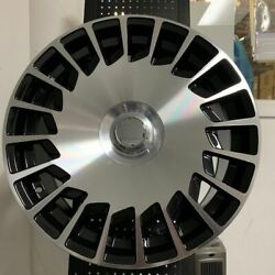 19 S560 Maybach Style Machined Rims Wheels Fits Mercedes Benz W221 W222 S Class