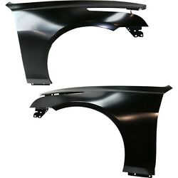 Fender For 2014-2018 Cadillac Cts Front Driver And Passenger Side Set Of 2