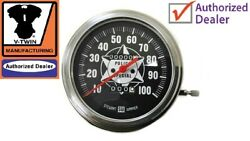 Speedometer With 11 Ratio Fl 1968-1980 Shovelhead Rigid 74andrdquo 4-speed Dresser