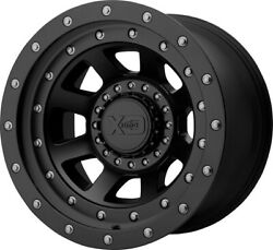 20 Inch Black Rims Wheels Lifted Ford F150 Expedition Truck 6x135 20x12 Xd Fmj