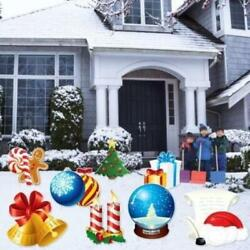 Christmas Snow Globes Yard Signs And Decorations - Free Shipping