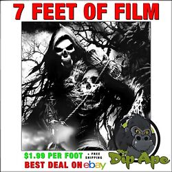 Hydrographic Film Skulls Geepers Reapers 7and039 X 20 Of Film Hydro Dipping Dip Ape