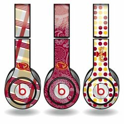 Iowa State Skins For Beats Solo Hd Headphones - Set Of 3 Patterns Free Shipping