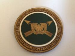 Us Army Special Forces Command - Command Chief Warrant Officer Challenge Coin