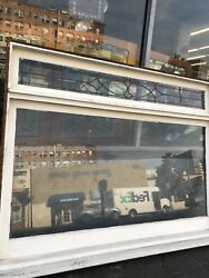 Craftsman Arts And Crafts Bay Window With Transom In Frame 79-3/4x59