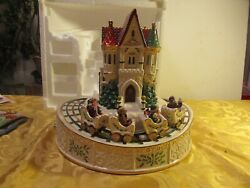 Lenox Holiday Musical Roller Coaster Centerpiece Limited Edition